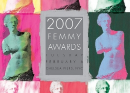 Femmy 2007 journal cover