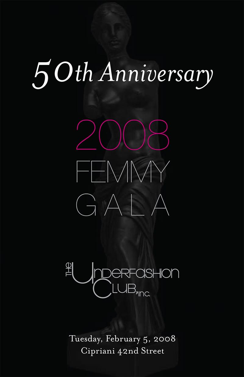 Femmy 2008 journal cover