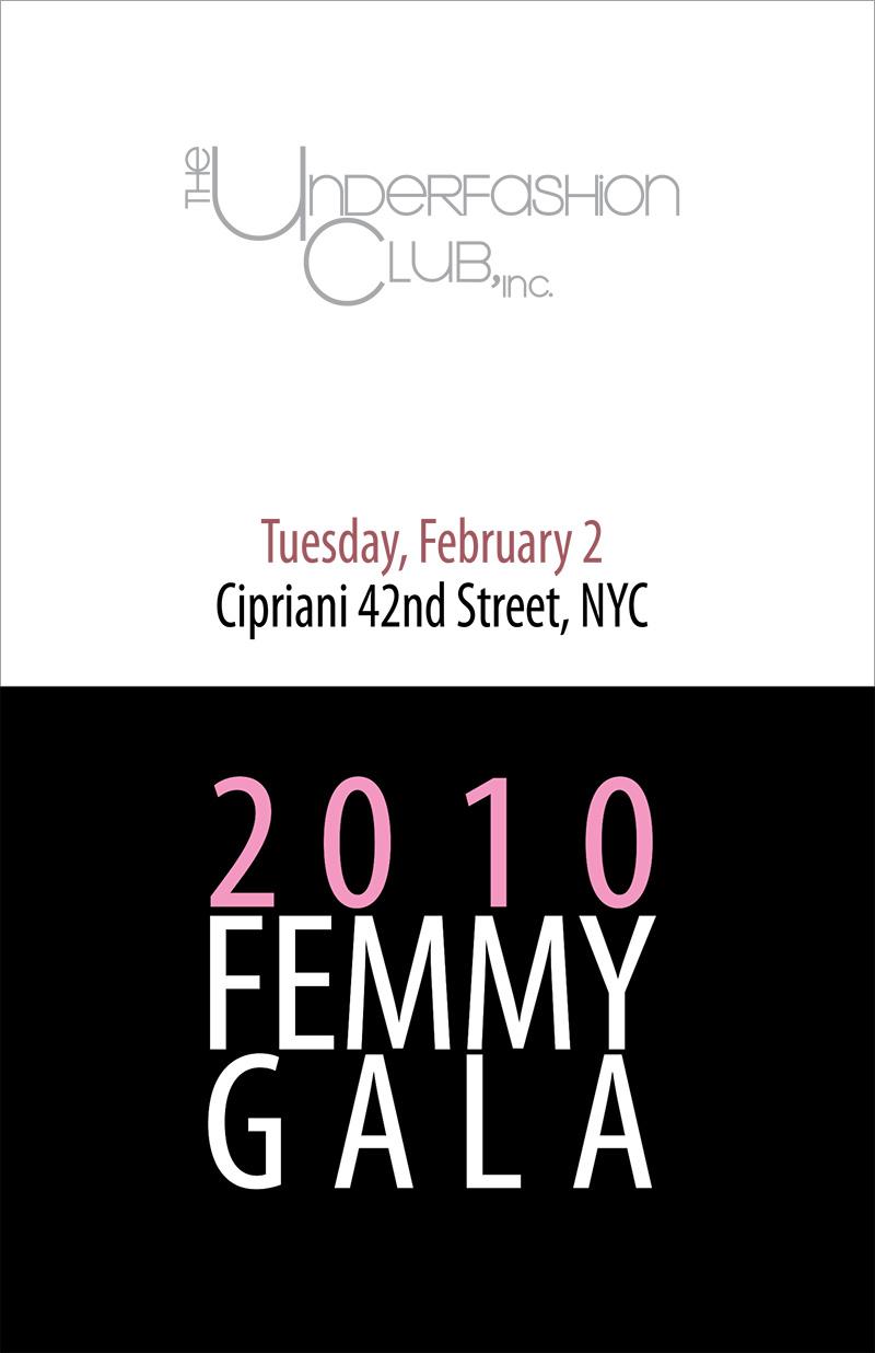 Femmy 2010 journal cover