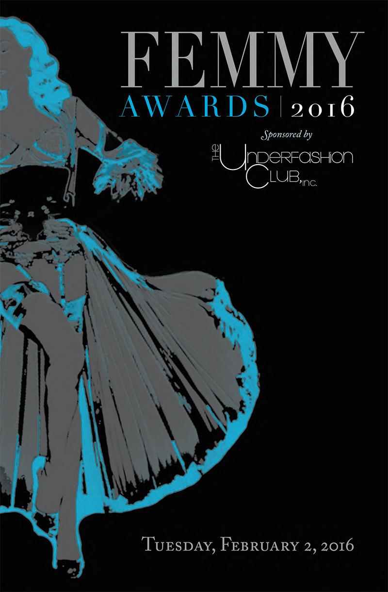 Femmy 2016 journal cover