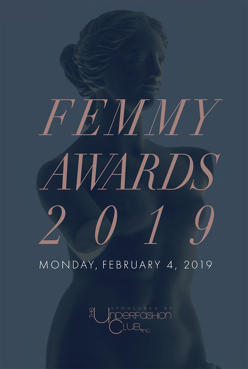 Femmy 2019 journal cover